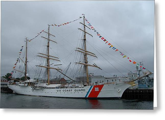Usa Coast Guard Greeting Card
