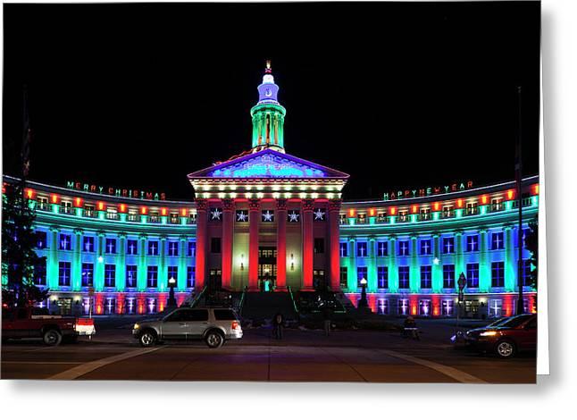 Usa, Colorado, Denver, Denver City Greeting Card