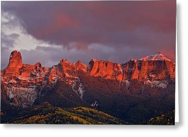 Usa, Colorado, Rocky Mountains, Owl Greeting Card