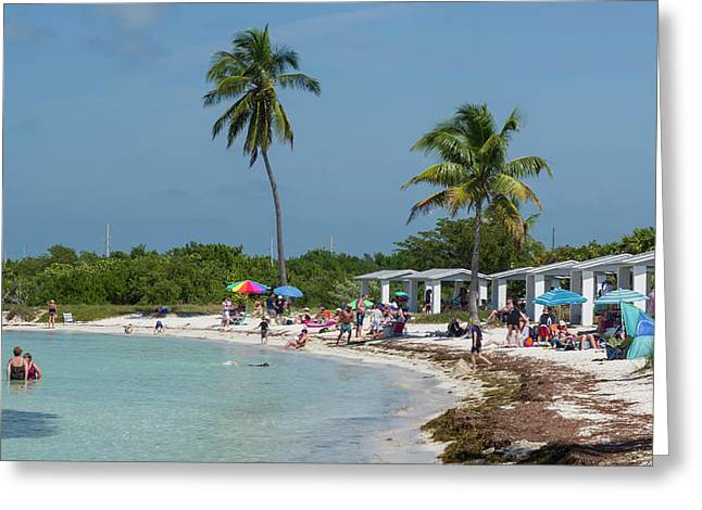 Usa, Florida, Bahia Honda State Park Greeting Card by Charles Crust