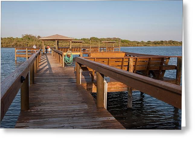 Usa, Florida, Edgewater, Edgewater Greeting Card by Lisa S. Engelbrecht