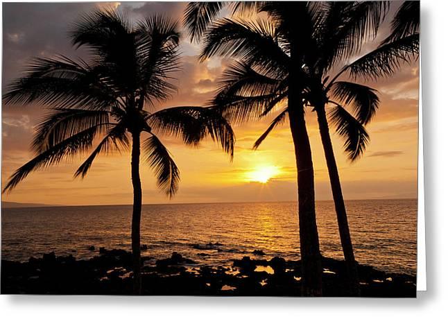 Usa, Hawaii, Maui, Kihei Greeting Card by Jaynes Gallery