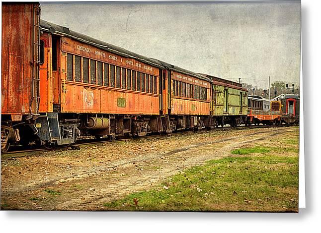 Usa, Indiana The North Mudson Railroad Greeting Card