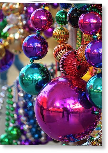 Usa, Nevada Christmas Decorations Greeting Card