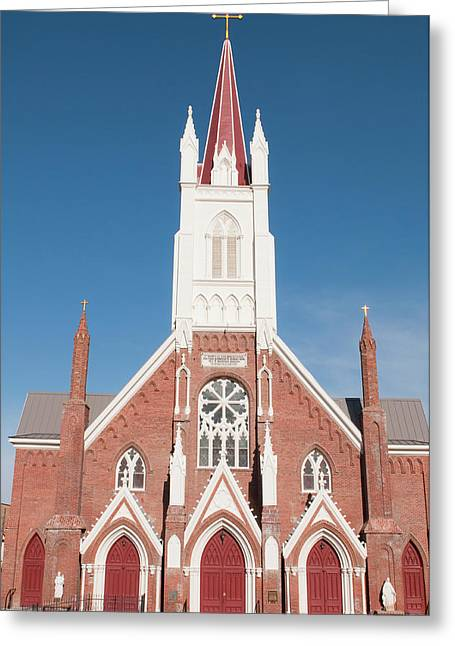 Usa, Nevada St Mary's In The Mountains Greeting Card