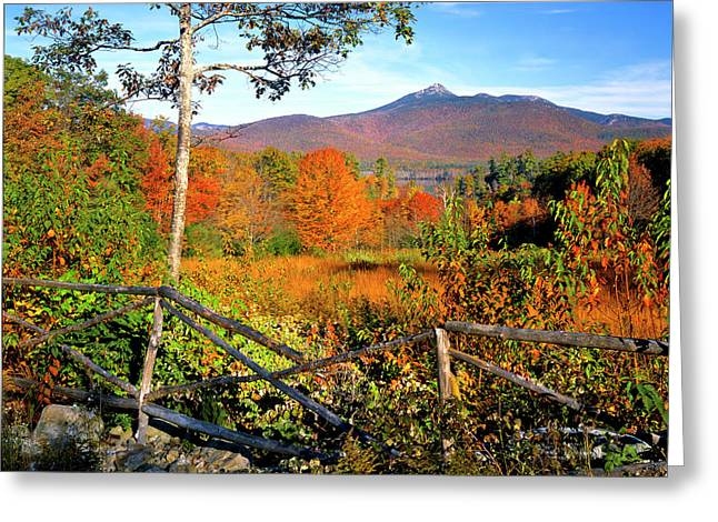Usa, New England, New Hampshire Greeting Card by Jaynes Gallery