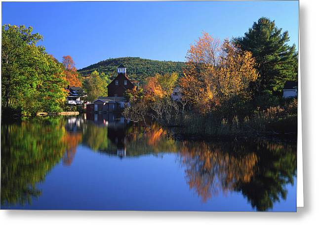 Usa, New Hampshire, Ashland Greeting Card by Jaynes Gallery