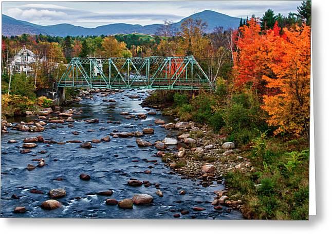 Usa, New Hampshire, Bethlehem Greeting Card by Bill Bachmann