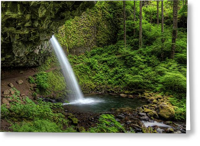 Usa, Or, Columbia River Gorge Greeting Card