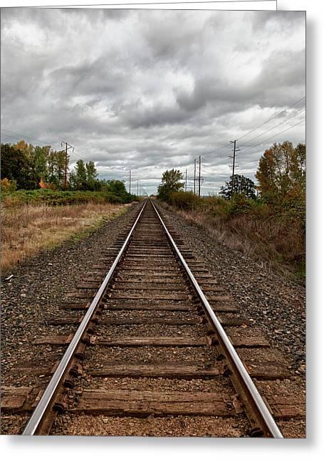 Usa, Oregon, Brooks, Railroad, Digital Greeting Card