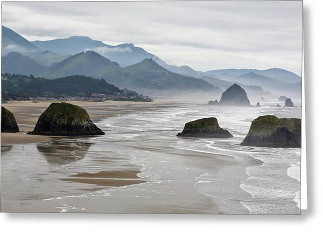 Usa, Oregon, Cannon Beach Greeting Card by Jaynes Gallery