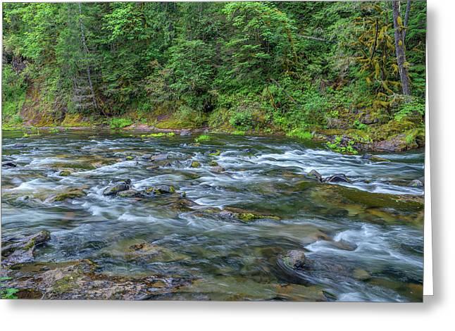 Usa, Oregon, Mount Hood National Greeting Card