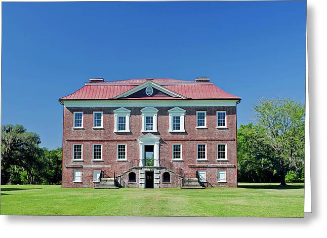 Usa, Sc, Charleston, Drayton Hall, 18th Greeting Card by Rob Tilley