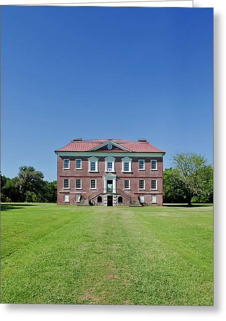 Usa, Sc, Charleston, Drayton Hall An Greeting Card