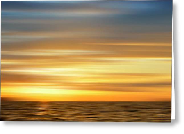 Usa, Southeast Alaska, Ketchikan Sunset Greeting Card