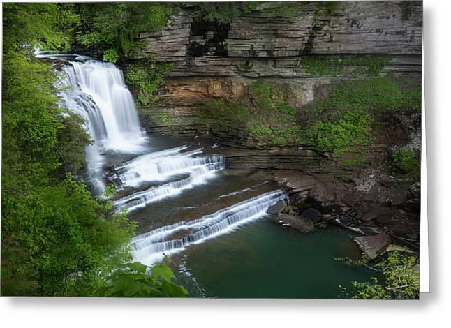 Usa, Tennessee, Cummins Falls State Park Greeting Card by Jaynes Gallery