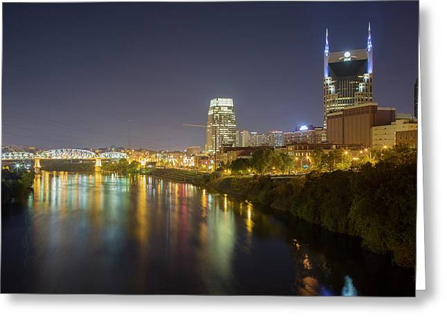 Usa, Tennessee, Nashville Greeting Card by Jaynes Gallery