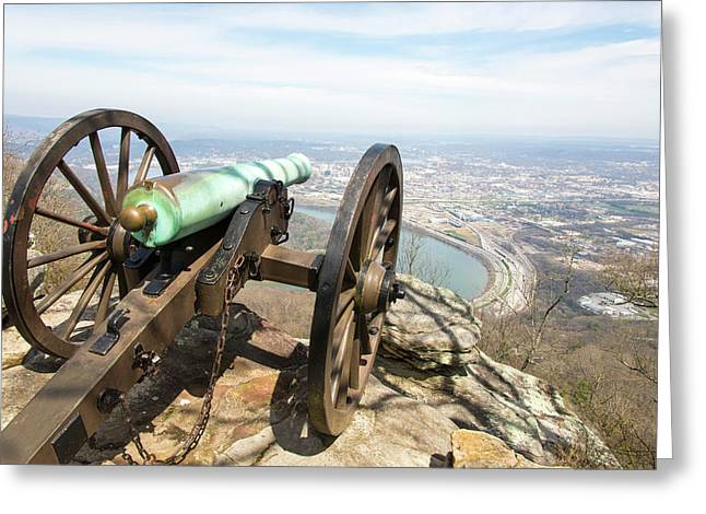 Usa, Tn, Chattanooga Greeting Card by Trish Drury