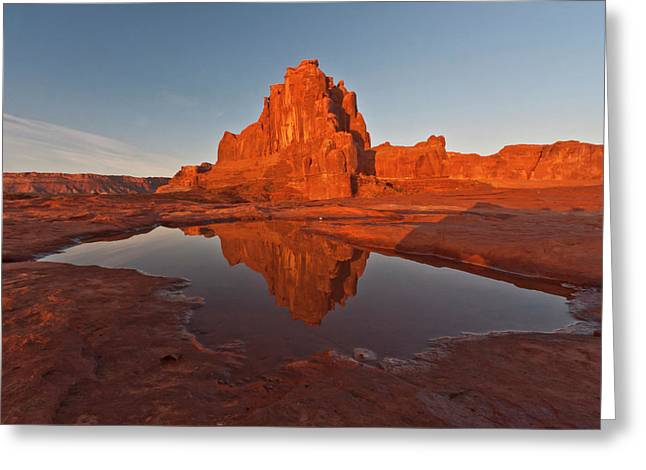 Usa, Utah, Arches National Park, La Sal Greeting Card by Jaynes Gallery