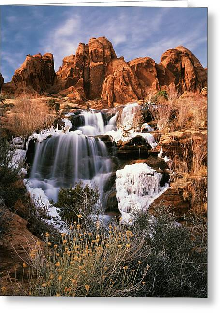 Usa, Utah, Spanish Valley, View Greeting Card by Scott T. Smith