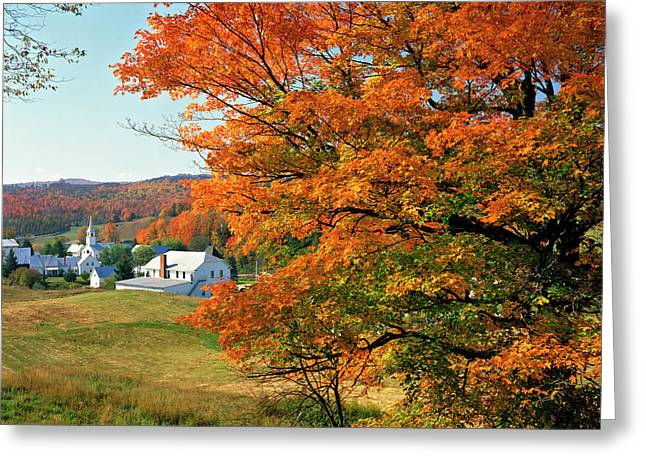 Usa, Vermont, East Corinth Greeting Card by Jaynes Gallery