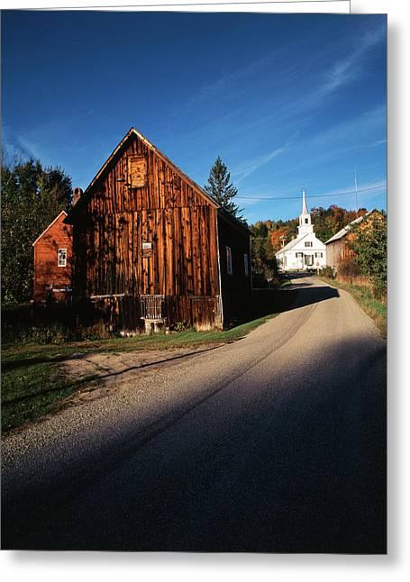 Usa, Vermont, Northeast Kingdom, Waits Greeting Card by Walter Bibikow