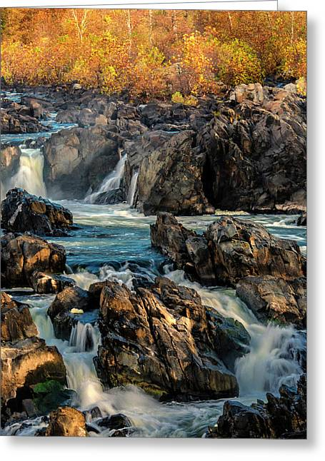Usa, Virginia, Great Falls Park Greeting Card by Jaynes Gallery