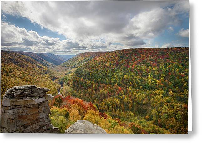 Usa, West Virginia Greeting Card by Christopher Reed