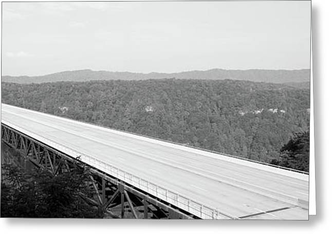 Usa, West Virginia, Route 19, High Greeting Card by Panoramic Images