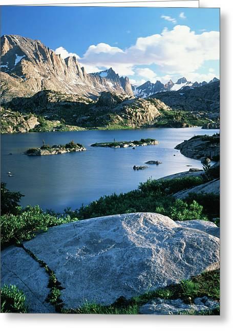 Usa, Wyoming, Bridger Wilderness Greeting Card by Scott T. Smith