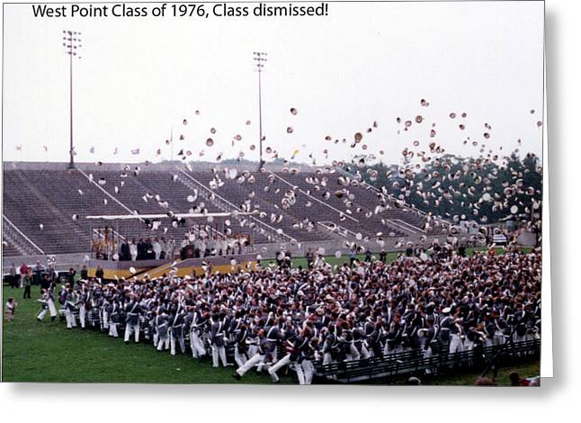 Usma Class Of 1976 Greeting Card
