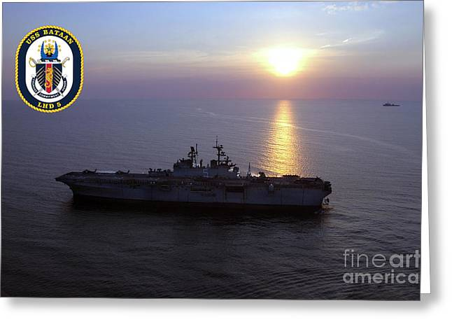 Uss Bataan Lhd 5 Greeting Card