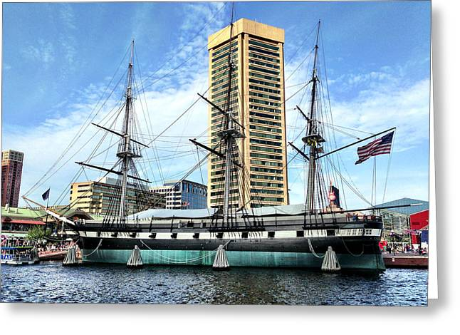 Uss Constellation Greeting Card