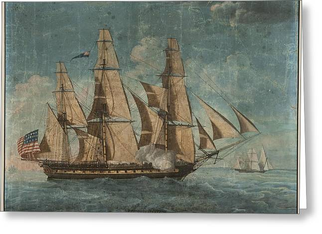 Uss Constitution 1803 Greeting Card