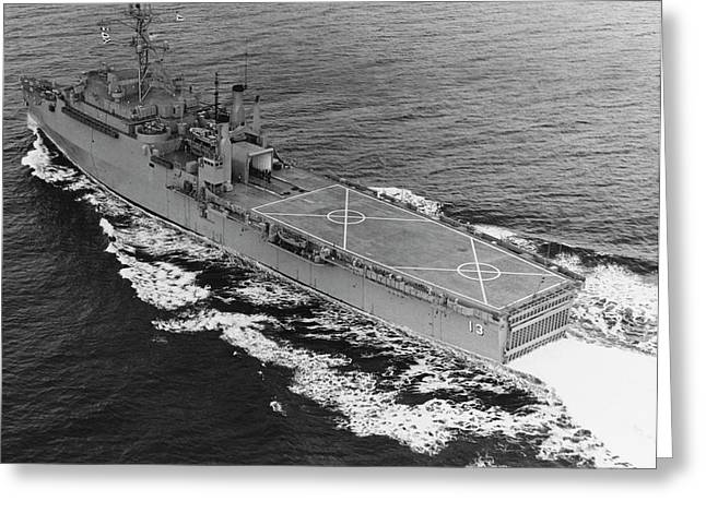 Uss Nashville Lpd-13, December 1969 Greeting Card