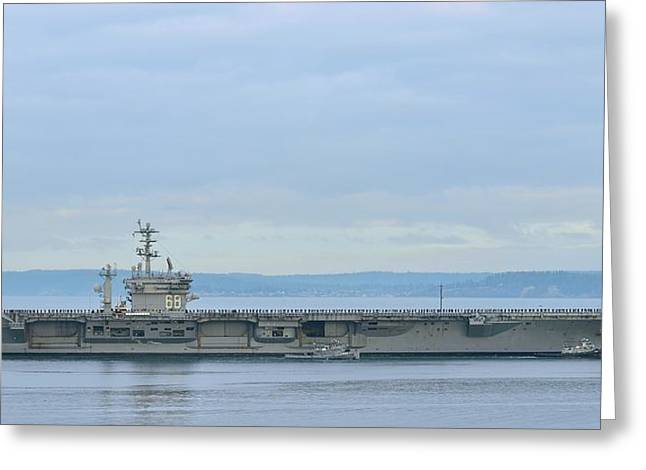 Uss Nimitz Greeting Card