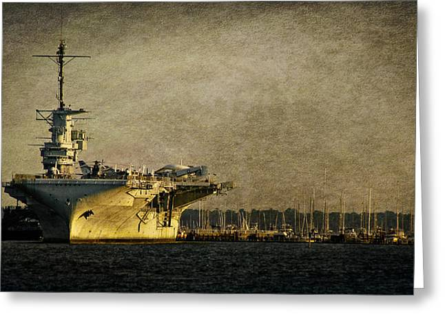 Uss Yorktown Cv10 Greeting Card