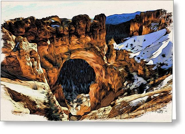 Utah Arche Greeting Card by Daxton Farr