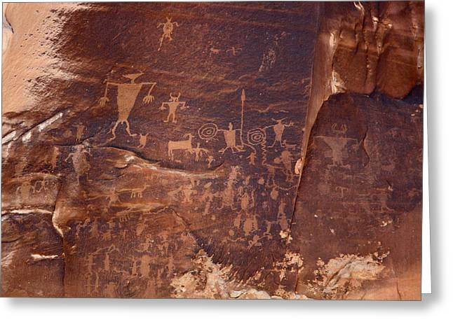 Utah Rock Art Greeting Card