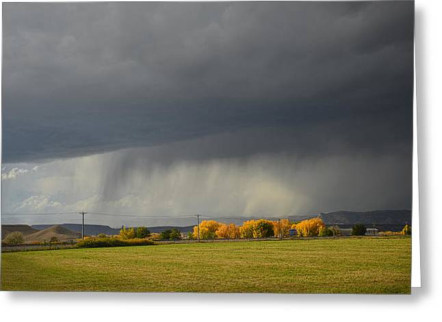 Utah Storm - 2 Greeting Card