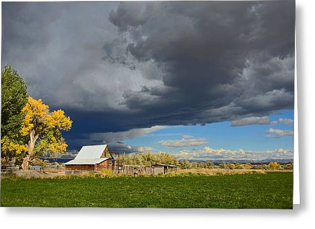 Utah Storm 2 Greeting Card
