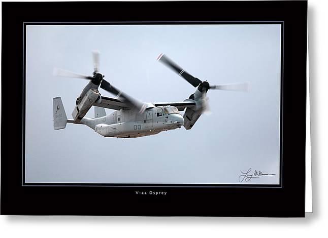 V-22 Osprey Greeting Card by Larry McManus
