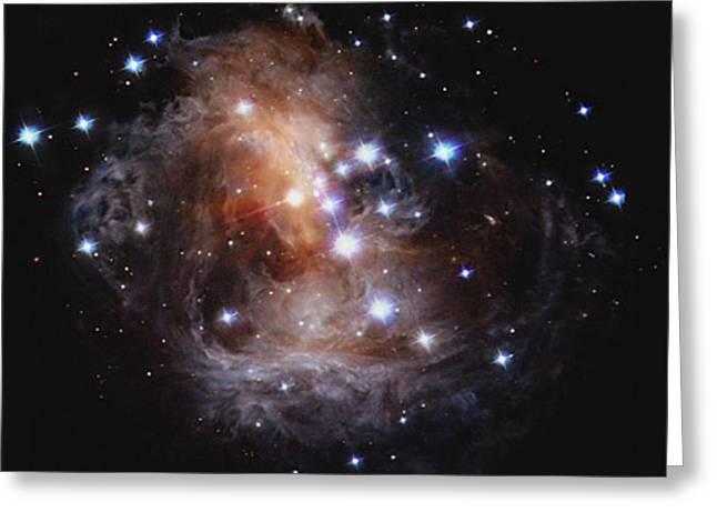 V838 Monocerotis, Red Variable Star Greeting Card