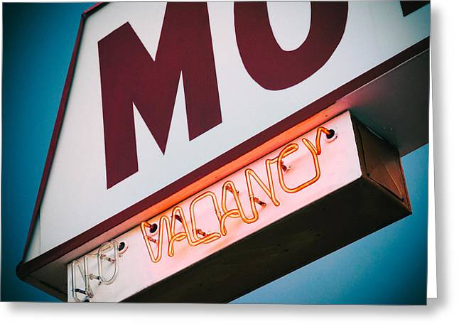 Vacancy Greeting Card by Dave Bowman