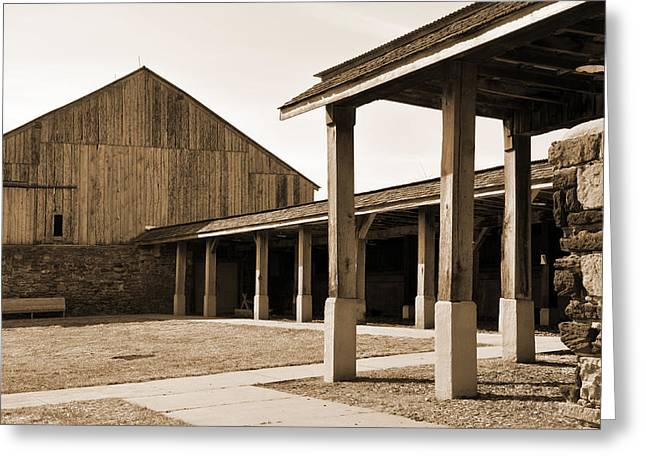 Greeting Card featuring the photograph Vacant by Kirt Tisdale
