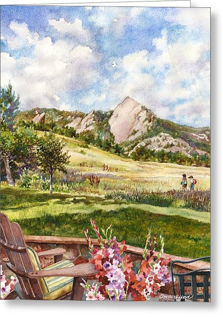 Vacation At Chautauqua Greeting Card