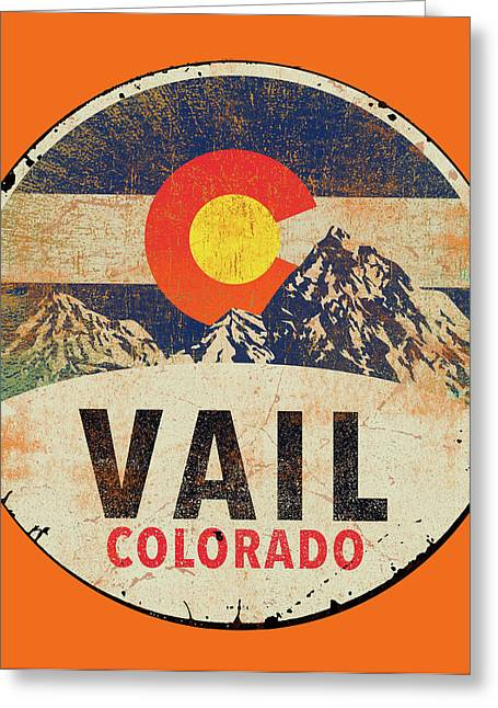 Vail Greeting Card
