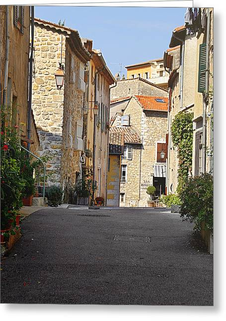 Valbonne - French Village Of Contradictions Greeting Card