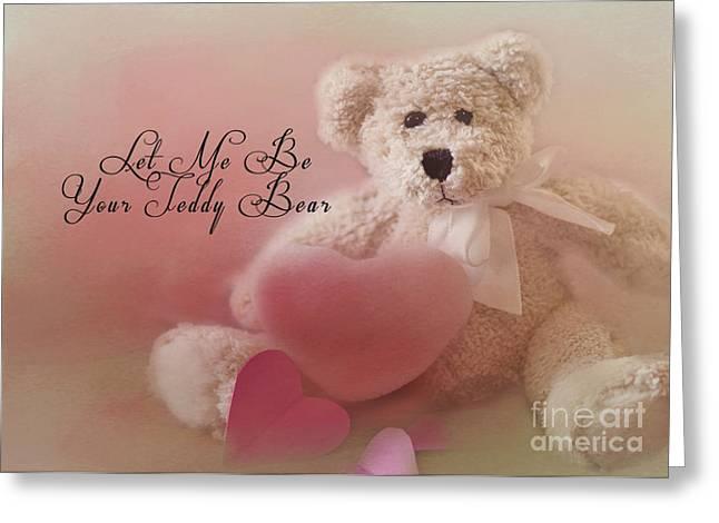 Valentine Bear 2 Greeting Card