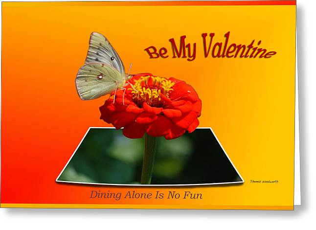 X rated greeting cards page 2 of 2 fine art america valentine dining alone is no fun greeting card m4hsunfo